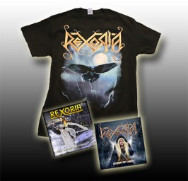 The Early Days - 1x Raven T-Shirt + 1x Queen of Light CD + 1x The World Unknown EP - Small