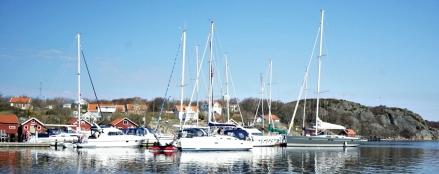 Gästhamnen vid Västra Bryggan