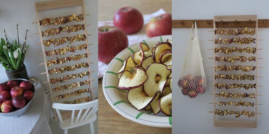 Apelstapeln äppeltork