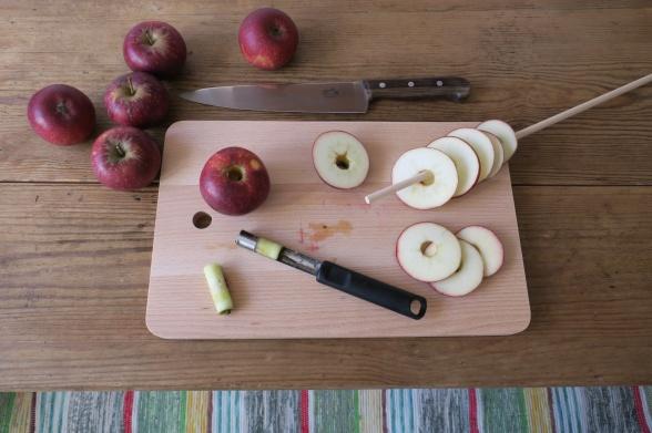 Att torka äpplen på ett enkelt sätt