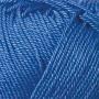 Merceriserat Bomullsgarn 8/4 - Klarblå härva 200 gram