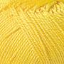 Merceriserat Bomullsgarn 8/4 - Gult nystan 200 gram