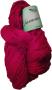Merceriserat Bomullsgarn 8/4 - Röd härva Jasmine 200 gram