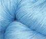 Merceriserat Bomullsgarn 8/4 - Ljusblå härva 200 gram