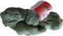 Merceriserat Bomullsgarn 12/3 - Fino Antikgrön härva