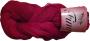 Merceriserat Bomullsgarn 12/3 - Fino Röd härva