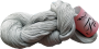 Merceriserat Bomullsgarn 12/3 - Fino Silvergrå härva