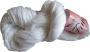 Merceriserat Bomullsgarn 12/3 - Fino Vit härva