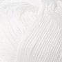 Merceriserat Bomullsgarn 12/3 - Vit härva