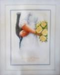 Tavla Brudbukett med rosor
