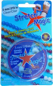 Tillbehör - Elastisk smycketråd 0.5 mm 10 meter