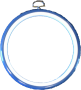 Flexiramar - Blå Rund 14 cm i diameter