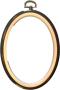 Flexiramar - Svart Oval 15 cm hög 11,5 cm bred