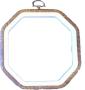Flexiramar - Träfärgad 8-kantig 14x14 cm