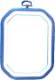 Flexiramar - Blå 8-kantig 15 cm hög 11,5 cm bred