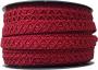 Möbelband - Mörkröd 12 mm