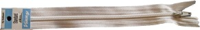 Blixtlås cm - Vit 18 cm
