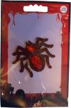 Textilmärke Spindel röd
