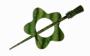 Knitpro Sjalspännen - Symfonie Garnet Misty Green