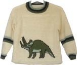 Mönster till Dinosaurietröja/Triceratopströja
