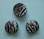 Knappar Animal - Animal Zebra 16 mm