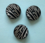 Knappar Animal - Animal Zebra 20 mm