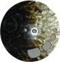 Knappar Pärlemo 34 mm - Knapp Pärlemo 34 mm Brun/Beige