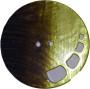 Knappar Pärlemo 34 mm - Knapp Pärlemo 34 mm Brun/Gul