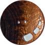 Knappar Pärlemo 34 mm - Knapp Pärlemo 34 mm Brun/Koppar