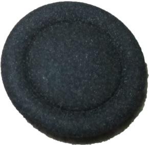 Knappar 18 mm - Knapp 18 mm Svart