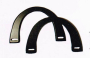 Väskhandtag - Svart U-format 20x13cm  Återvunnen plast