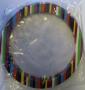 Väskhandtag - Multicolor Runt plast ca 17 cm i diameter