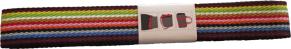 Axelband till Väskor - Multicolor 3 m långt, 4 cm brett