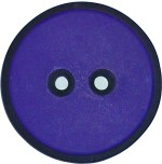 Lila Knapp med svart kant 30 mm