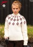 Mönster till Islandströja för henne