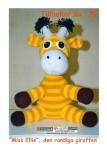 Mönster till Miss Ellie den Randiga Giraffen