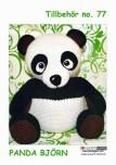 Mönster till Panda