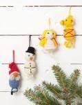 Mönster till Virkade Julfigurer