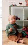 Mönster till Babykofta i Trunte