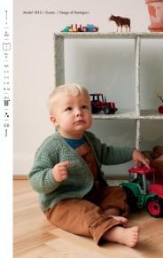 Mönster till Babykofta i Trunte - Babykofta i Trunte