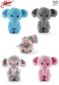 Mönster till Elefanten Mo - Elefanten Mo