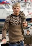 Mönster till Islandströja för honom Riddari 2