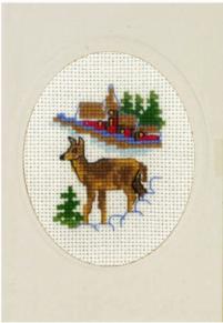 Julkort Rådjur