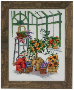Tavla Orangerie med Apelsiner