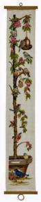 Vepa Körsbärsträd med fåglar