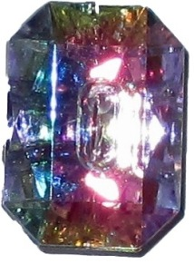 Knappkarta Elegant Kristall - Knappkarta Elegant Kristall
