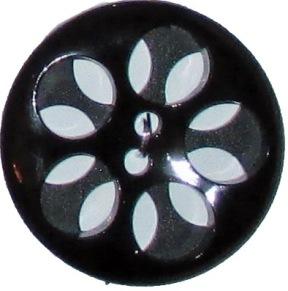 Knappkarta Genombrutna Blommor - Genombrutna Blommor 2-pack 32 mm