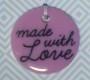 Knappkartor Made With Love - Knappkarta 6 knappar Blå/Lila nyanser