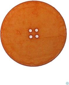 Ljus Orange Knapp 40 mm - Ljus Orange Knapp 40 mm