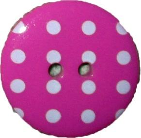 Prickiga Knappar 23 mm - Prickig knapp 23 mm Rosa